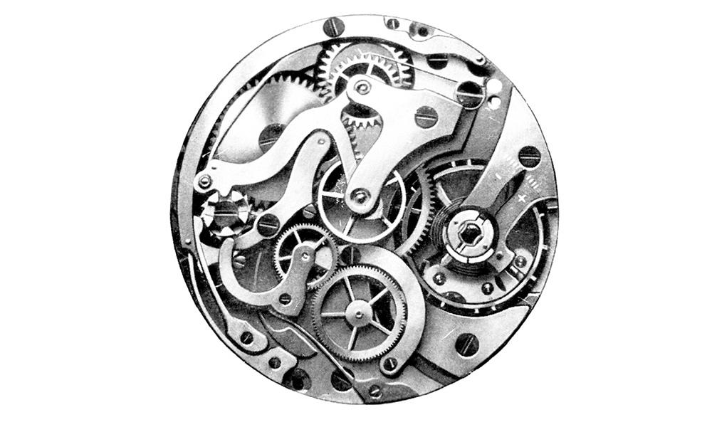 hanhart calibre 40 chronograph