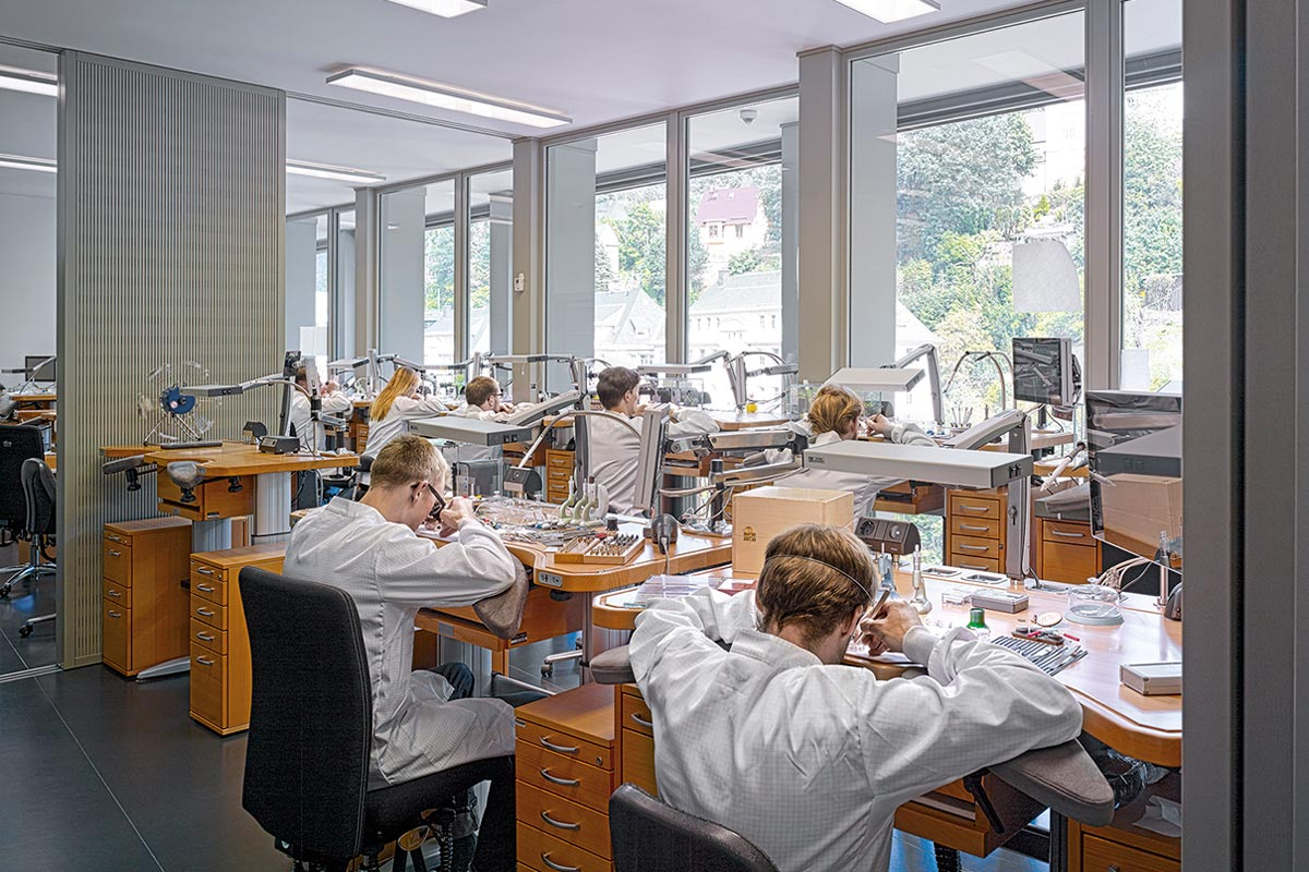A. Lange & Sohne new manufactory