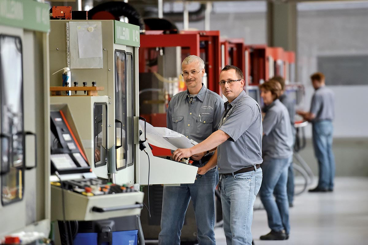 A. Lange & Sohne new manufactory