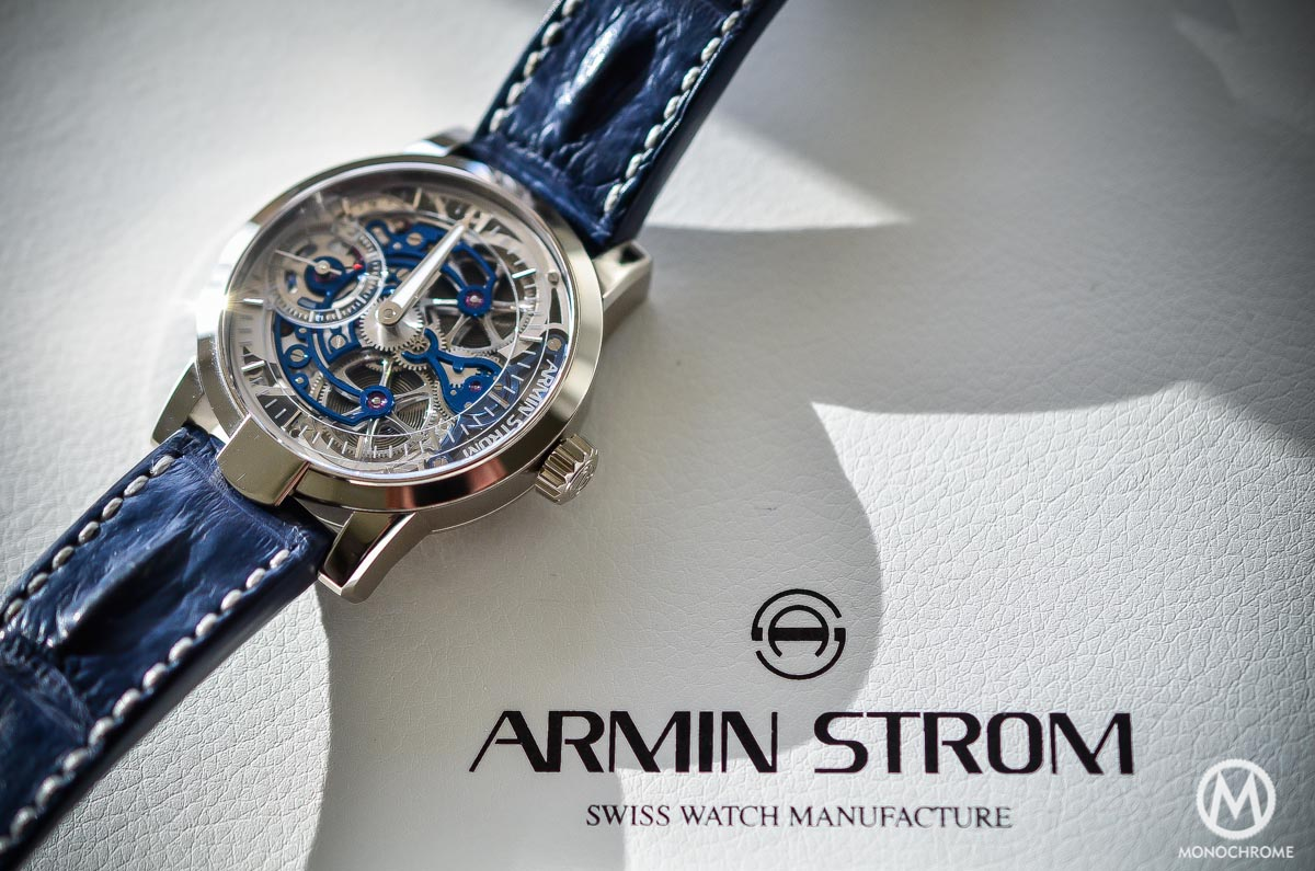Armin Strom Skeleton Pure White Gold - 8