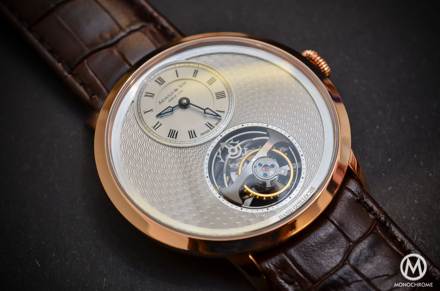 Arnold & Son UTTE – Ultra Thin Tourbillon Escapement - full case