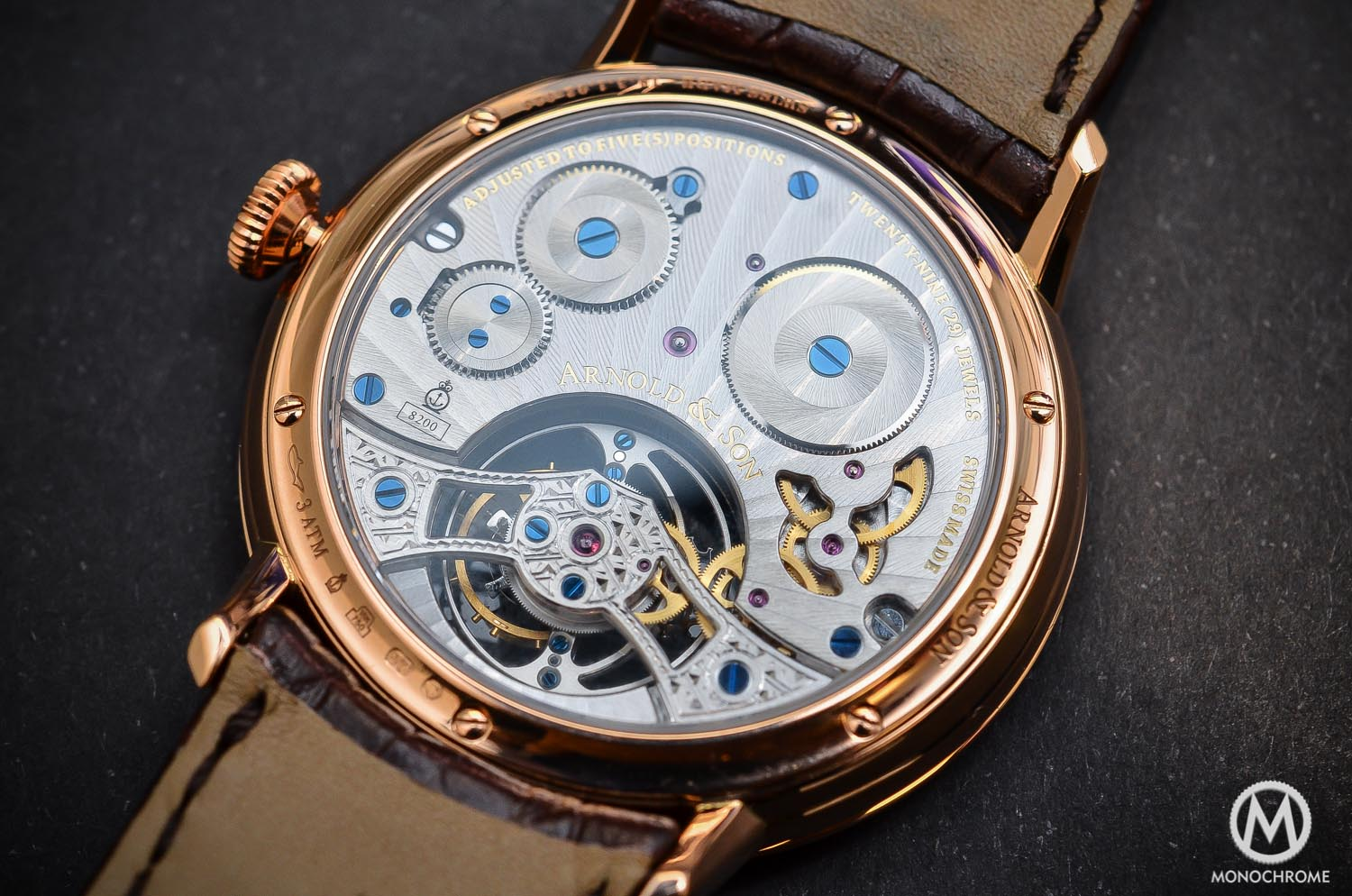 Arnold & Son UTTE – Ultra Thin Tourbillon Escapement - movement