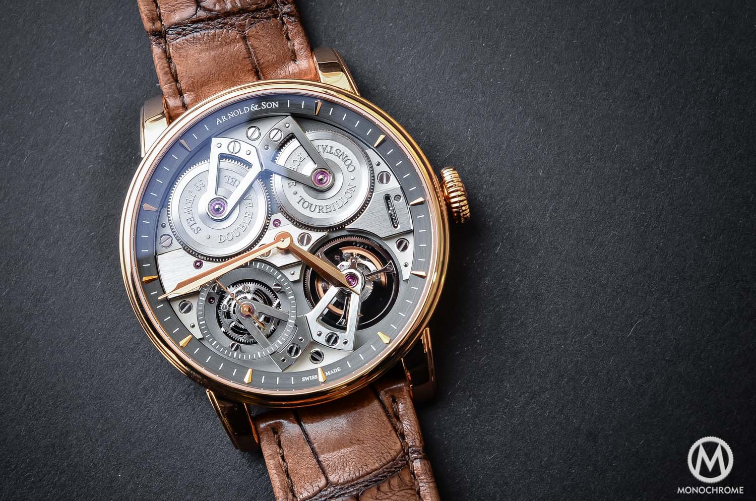 Arnold and Son Constant Force Tourbillon - hands-on review - cover