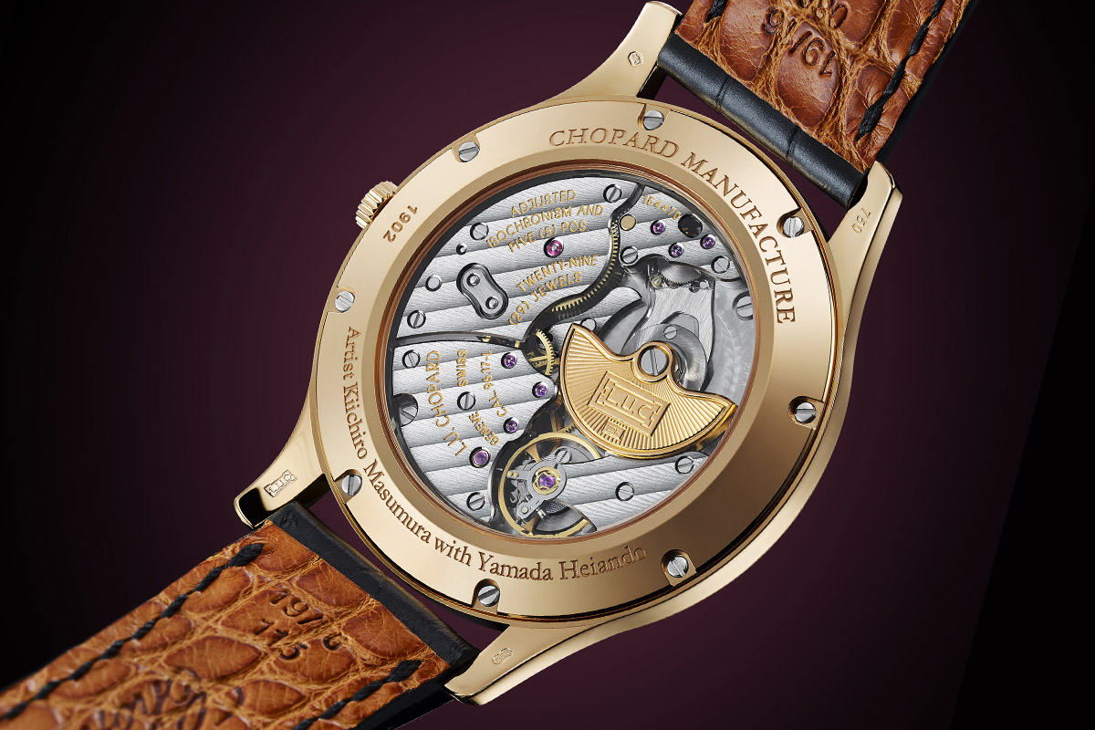 Chopard L.U.C XP Urushi - Year of the monkey - movement