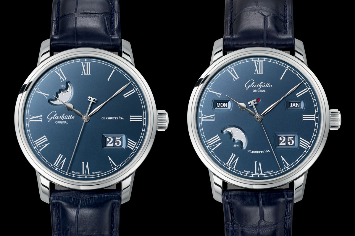 Glashutte Original Senator Boutique Edition Blue Dial