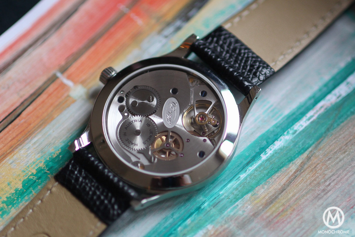 Habring2 Felix Gold - Review - movement A11B detail