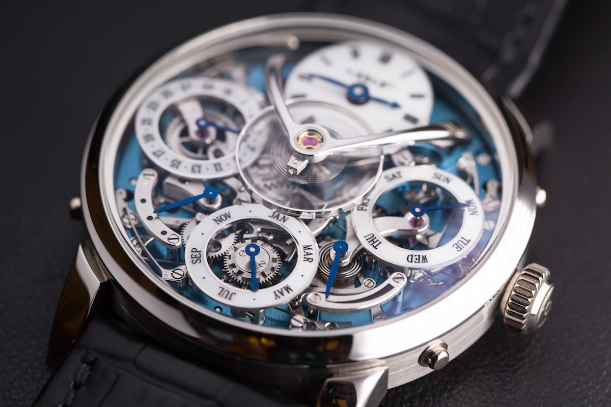 MB&F legacy Machine Perpetual - Credits to The Horophile - QP