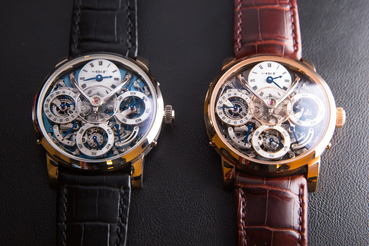 MB&F legacy Machine Perpetual - Credits to The Horophile - collection