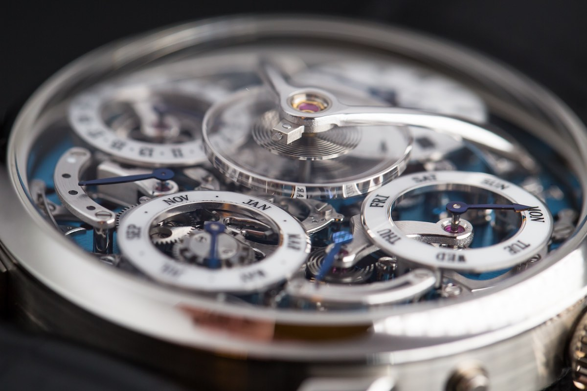 MB&F legacy Machine Perpetual - Credits to The Horophile - flying balance wheel