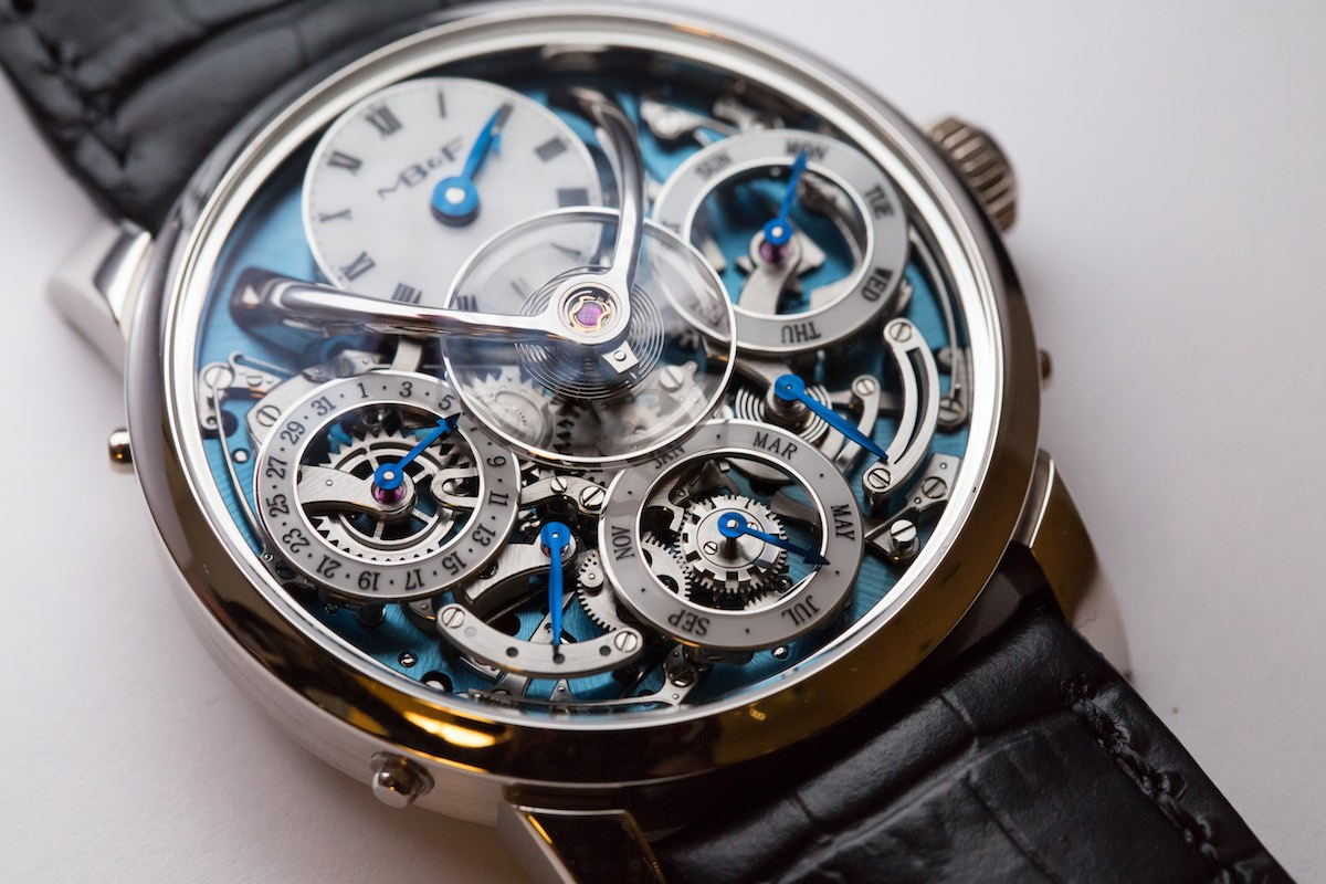 MB&F legacy Machine Perpetual - Credits to The Horophile - perpetual calendar detail