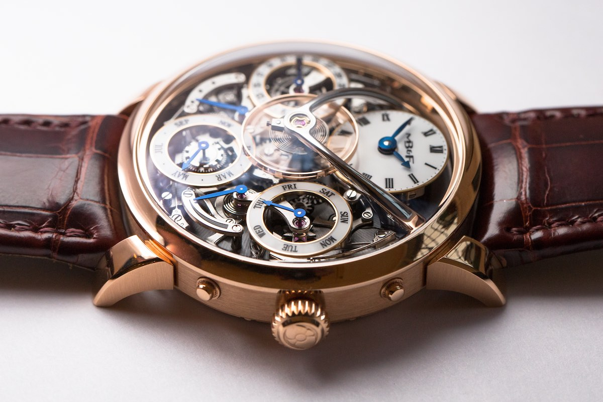 MB&F legacy Machine Perpetual - Credits to The Horophile - red gold profile