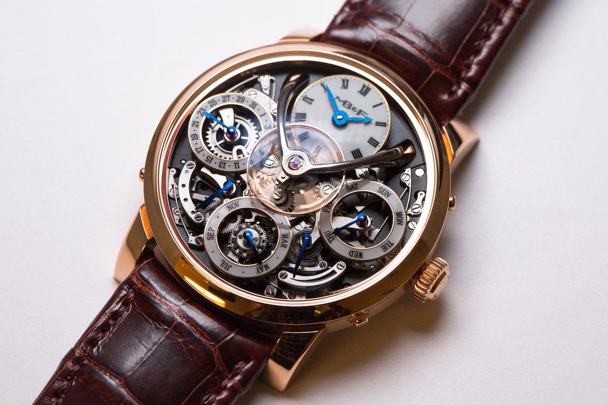 MB&F legacy Machine Perpetual - Credits to The Horophile - red gold