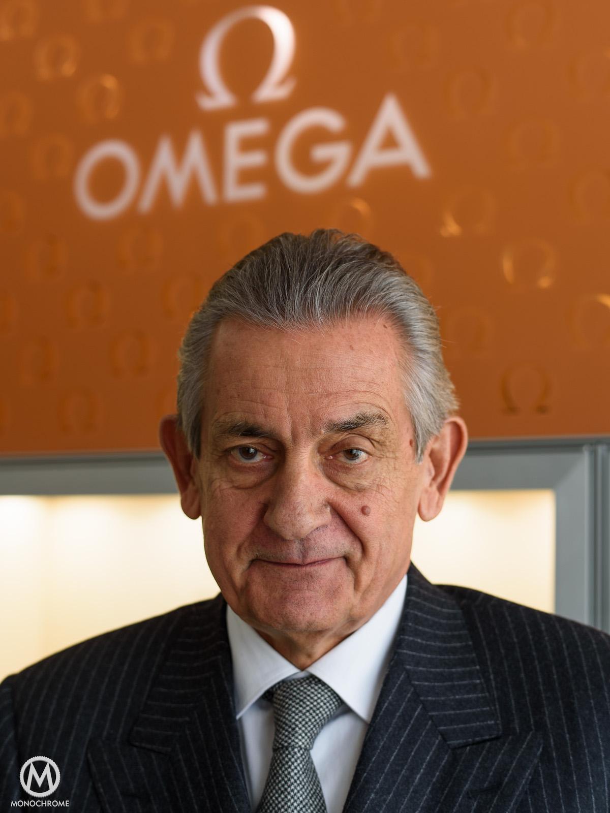 Omega - METAS - Headquarters visit - Stephen Urquhart