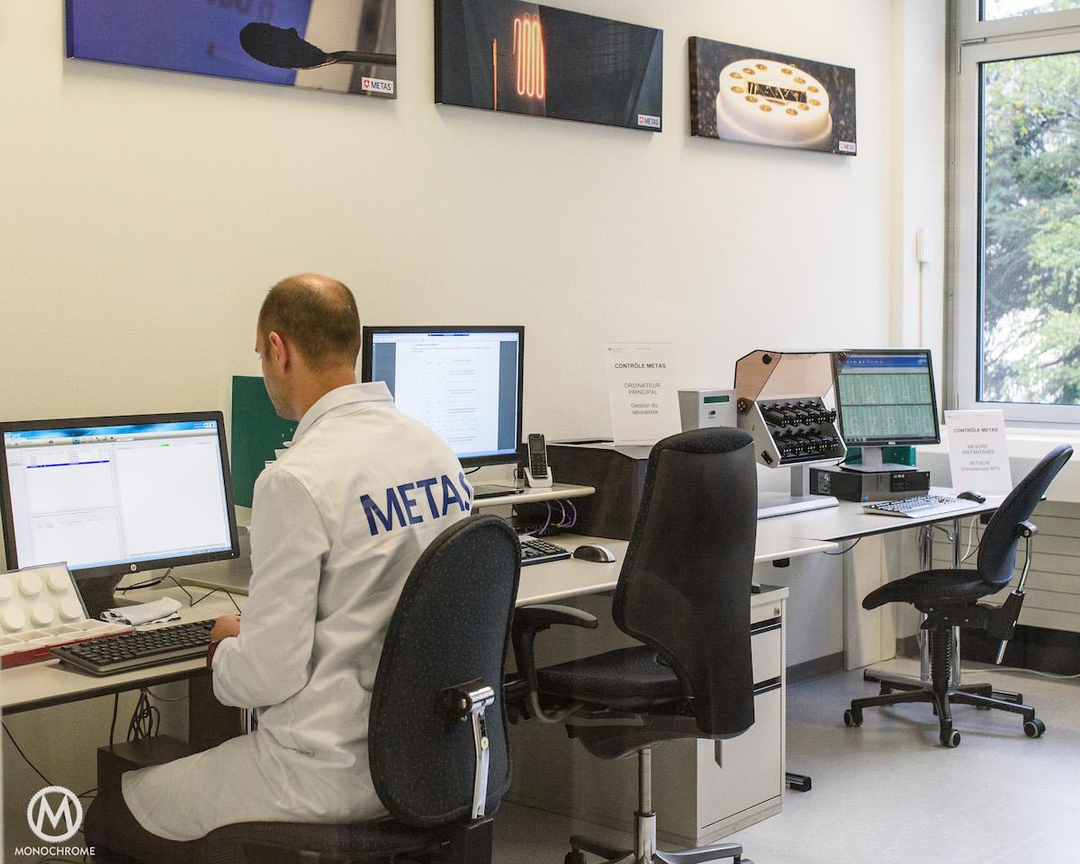 Omega Manufacature - METAS Certification - Visit - 6