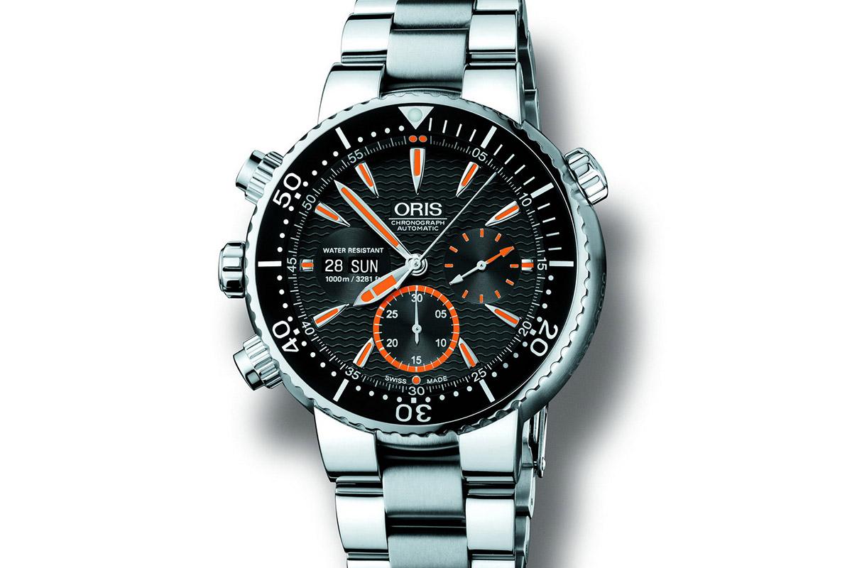 Oris Carlos Coste Chronograph 1000m Mk 2