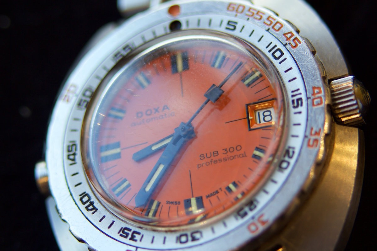 Prototype HRV equipped Doxa 300 Professional - 2