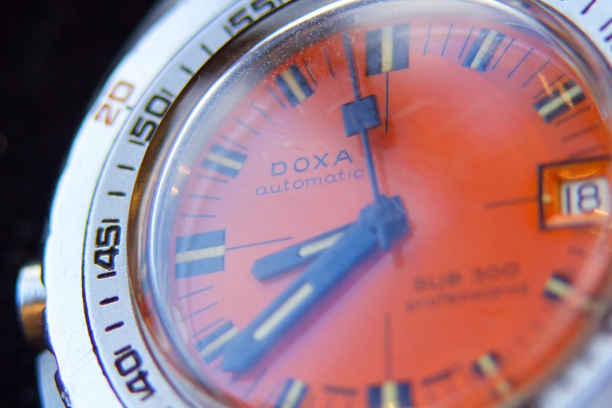 Prototype HRV equipped Doxa 300 Professional - 3