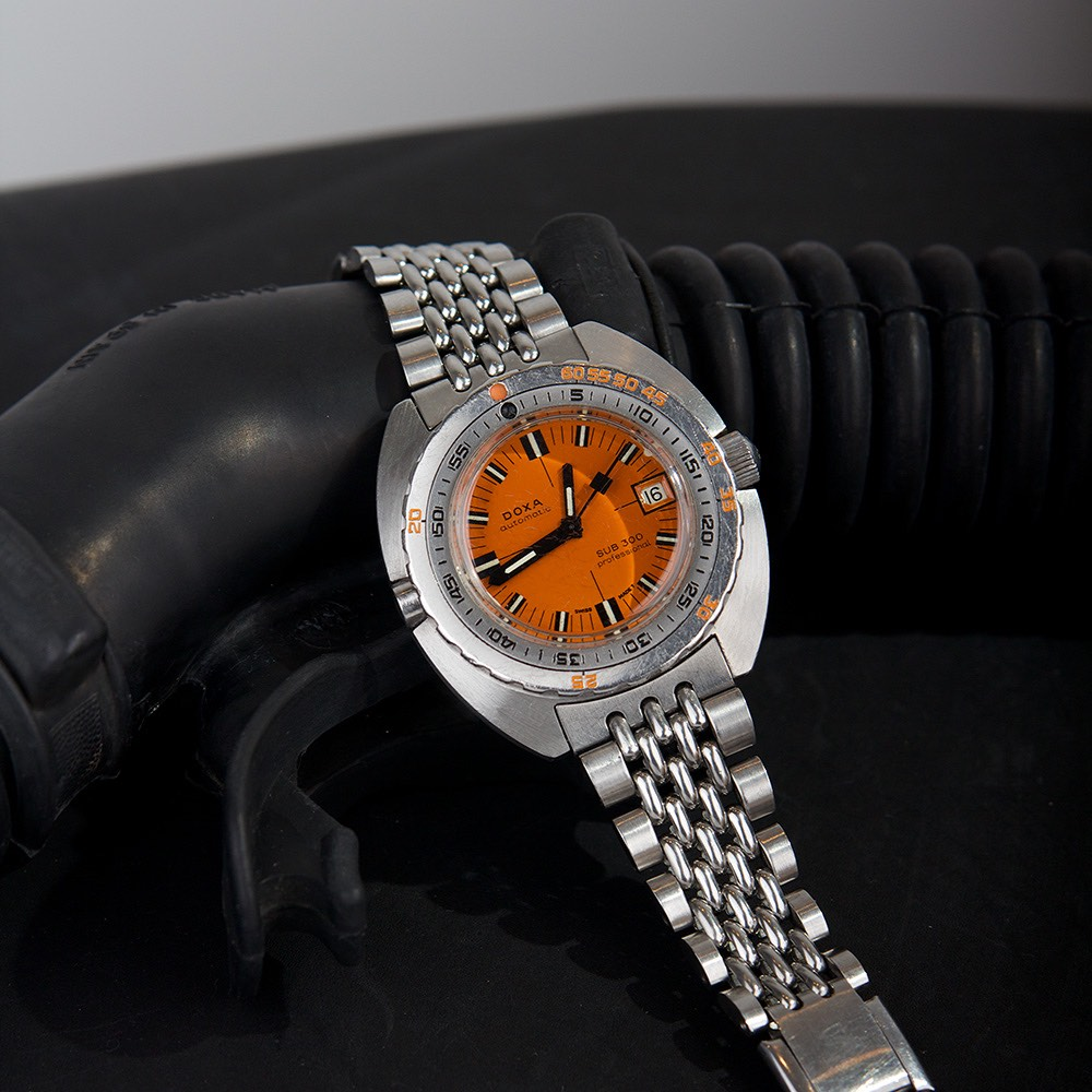 Prototype HRV equipped Doxa 300 Professional - 8