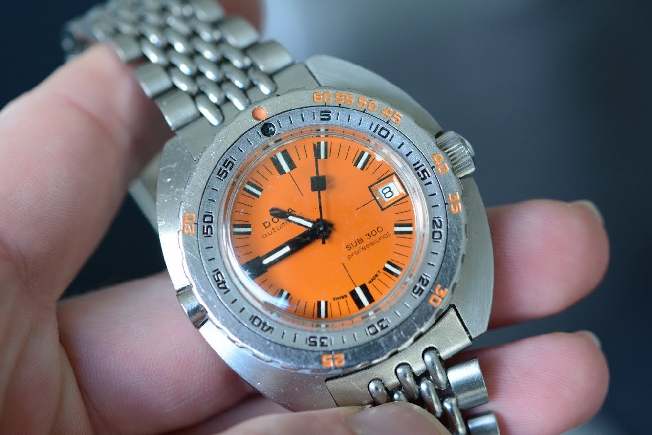 Prototype HRV equipped Doxa 300 Professional - 9