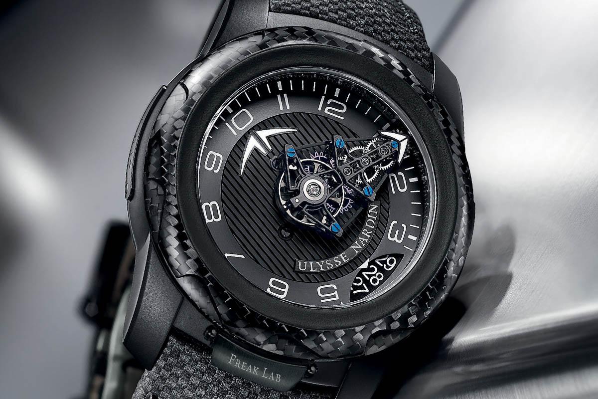 Ulysse Nardin FreakLab Boutique Edition black titanium carbon fiber - 3
