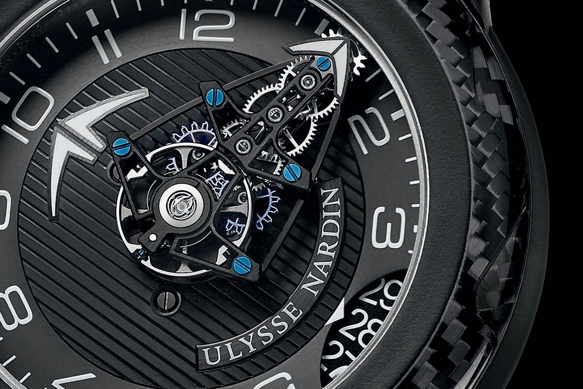Ulysse Nardin FreakLab Boutique Edition black titanium carbon fiber - 4