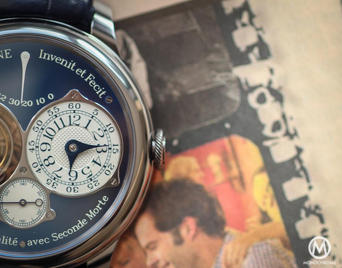 Unique FP Journe Tourbillon Souverain Bleu in tantalum for Only Watch 2015 - 2