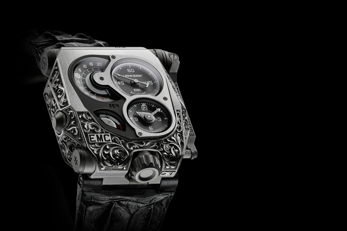Urwerk EMC Pistol - unique engraved - cover