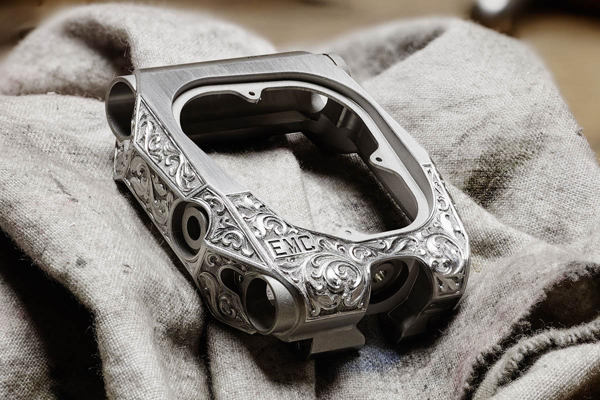 Urwerk EMC Pistol - unique engraved