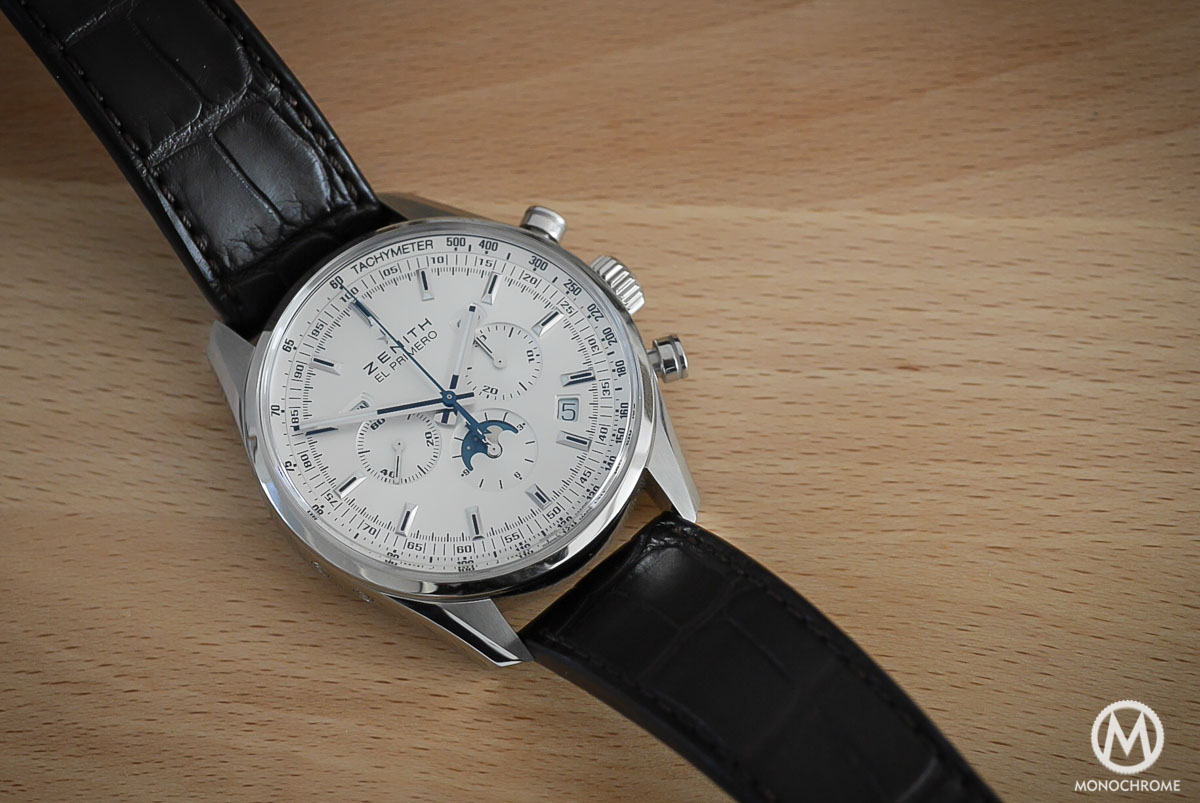 Zenith El Primero 410 Triple Calendar and MoonPhase Chronograph