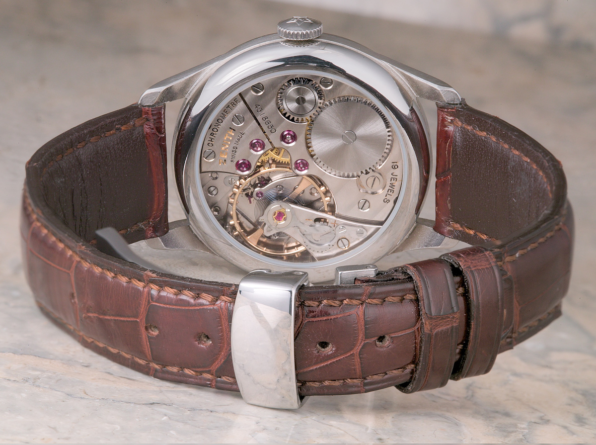 zenith calibre 135 chronometer - 10