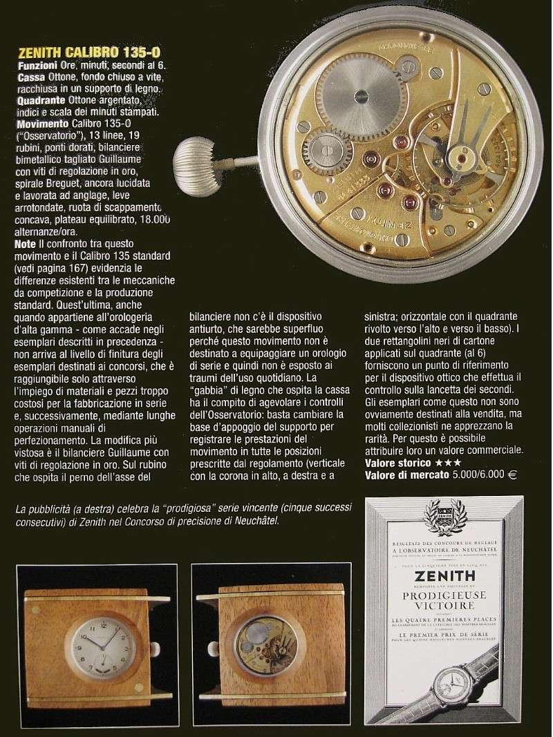 zenith calibre 135 chronometer - 2