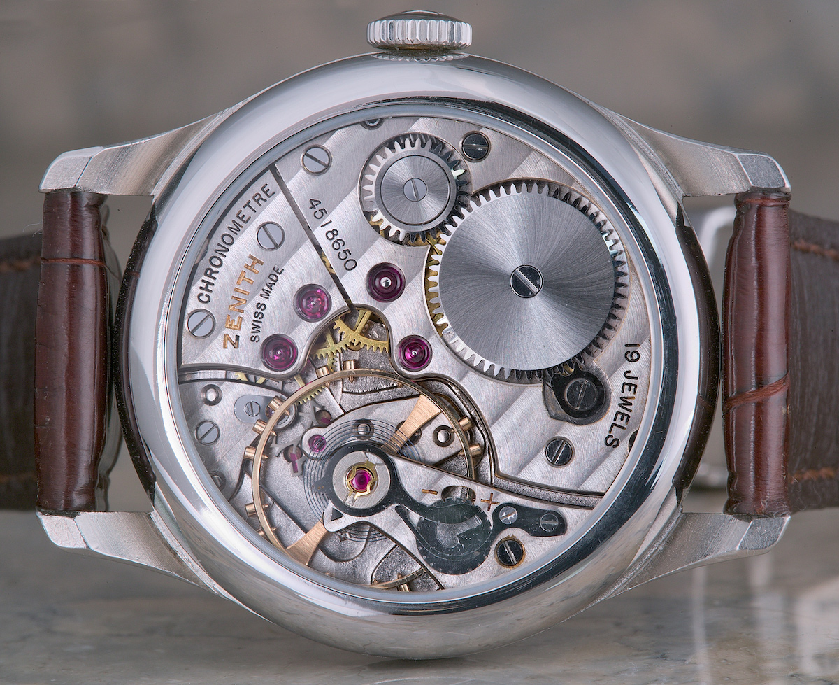 zenith calibre 135 chronometer - 5