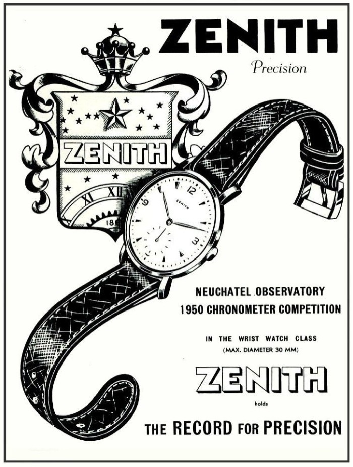 zenith calibre 135 chronometer - 8