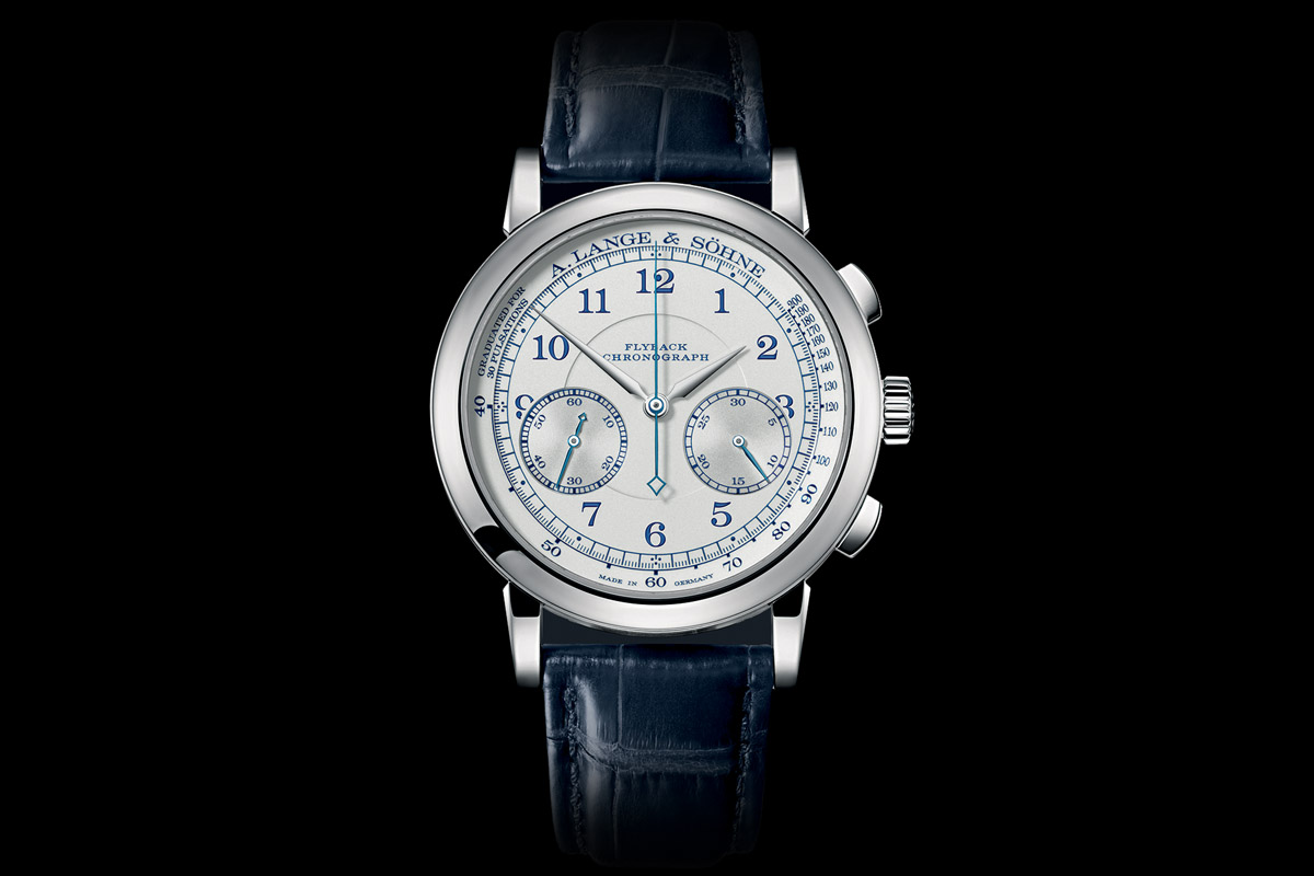 A.-Lange-and-Sohne-1815-Chronograph-Boutique-Edition-Pulsation-Scale- Top 7 chronographs of 2015