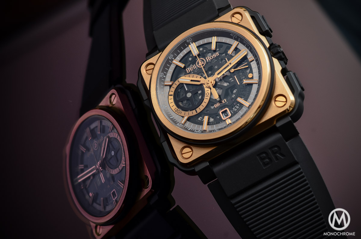 Bell-and-Ross-BR-X1-Pink-Gold-Black-Ceramic-Review-Top 7 chronographs of 2015