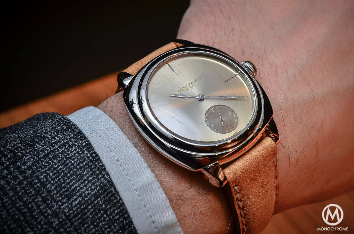 Christmas Buying Guide - Our Top 5 Dress Watches of 2015 - Laurent-Ferrier-Galet-Square-Stainless-Steel-4