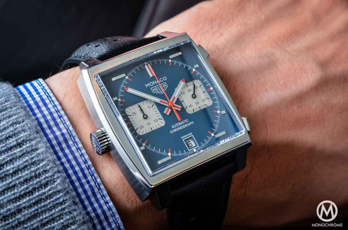 a26b06dbbb05 A look at the 2015 TAG Heuer Monaco Calibre 11