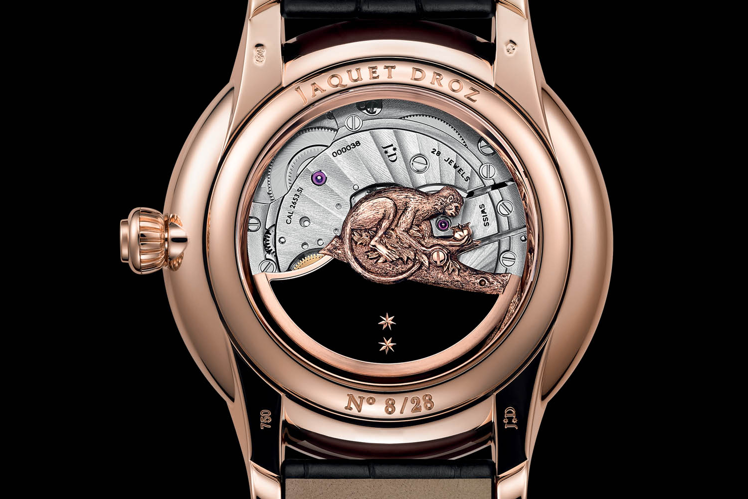 Jaquet Droz Petite Heure Minute Year Monkey