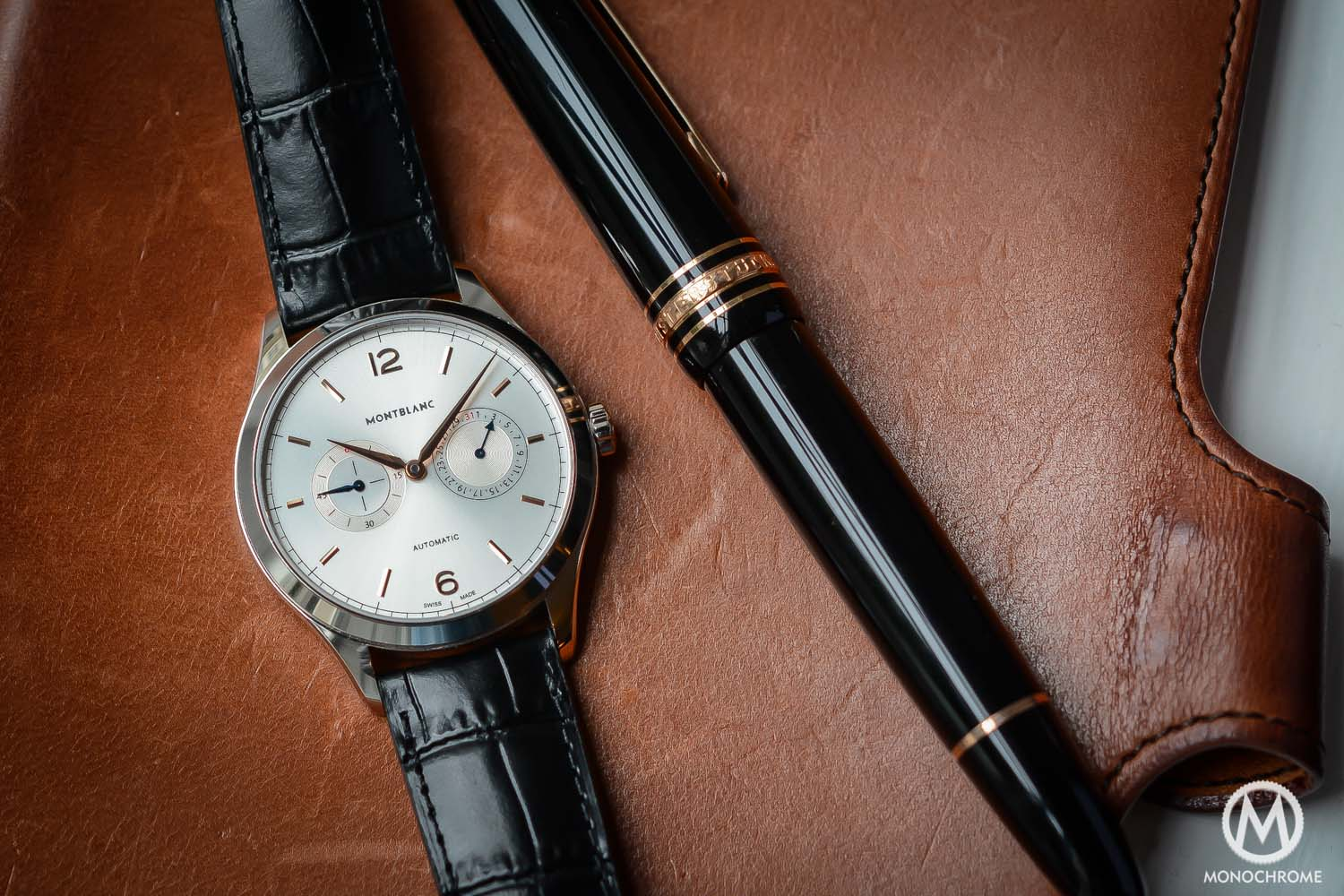 Montblanc Heritage Chronometrie Date by Hand