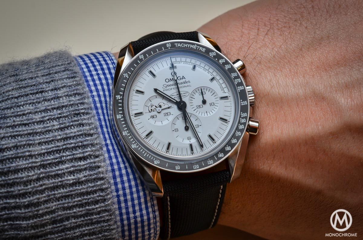 Omega Speedmaster Moonwatch Apollo 13 Silver Snoopy Award - Top 7 chronographs of 2015