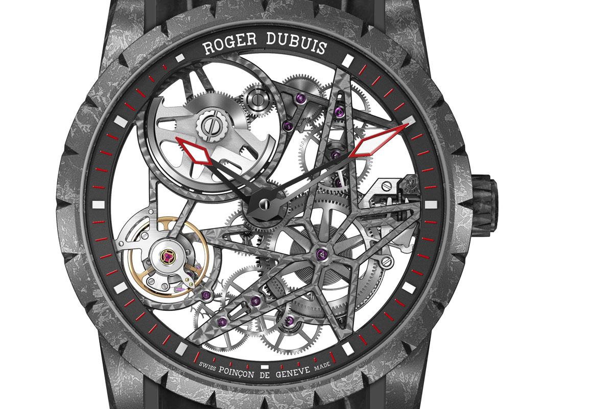 Roger Dubuis Excalibur Automatic Skeleton Carbon - 3