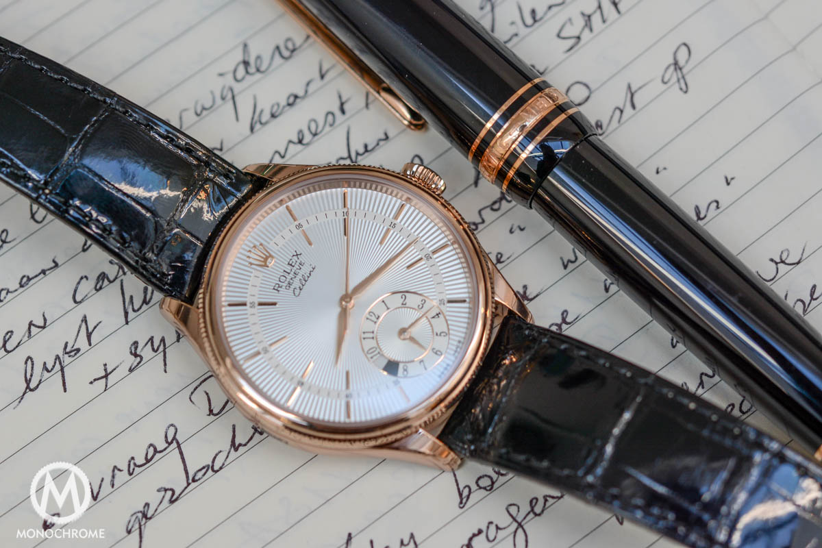 Rolex Cellini Dual Time everose gold ref. 50525 - case