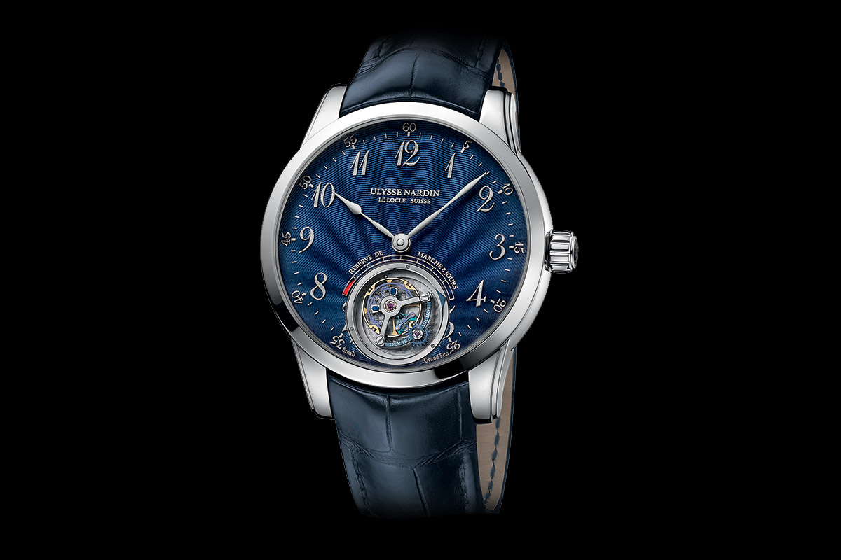 Ulysse Nardin Anchor Tourbillon Blue Enamel Dial
