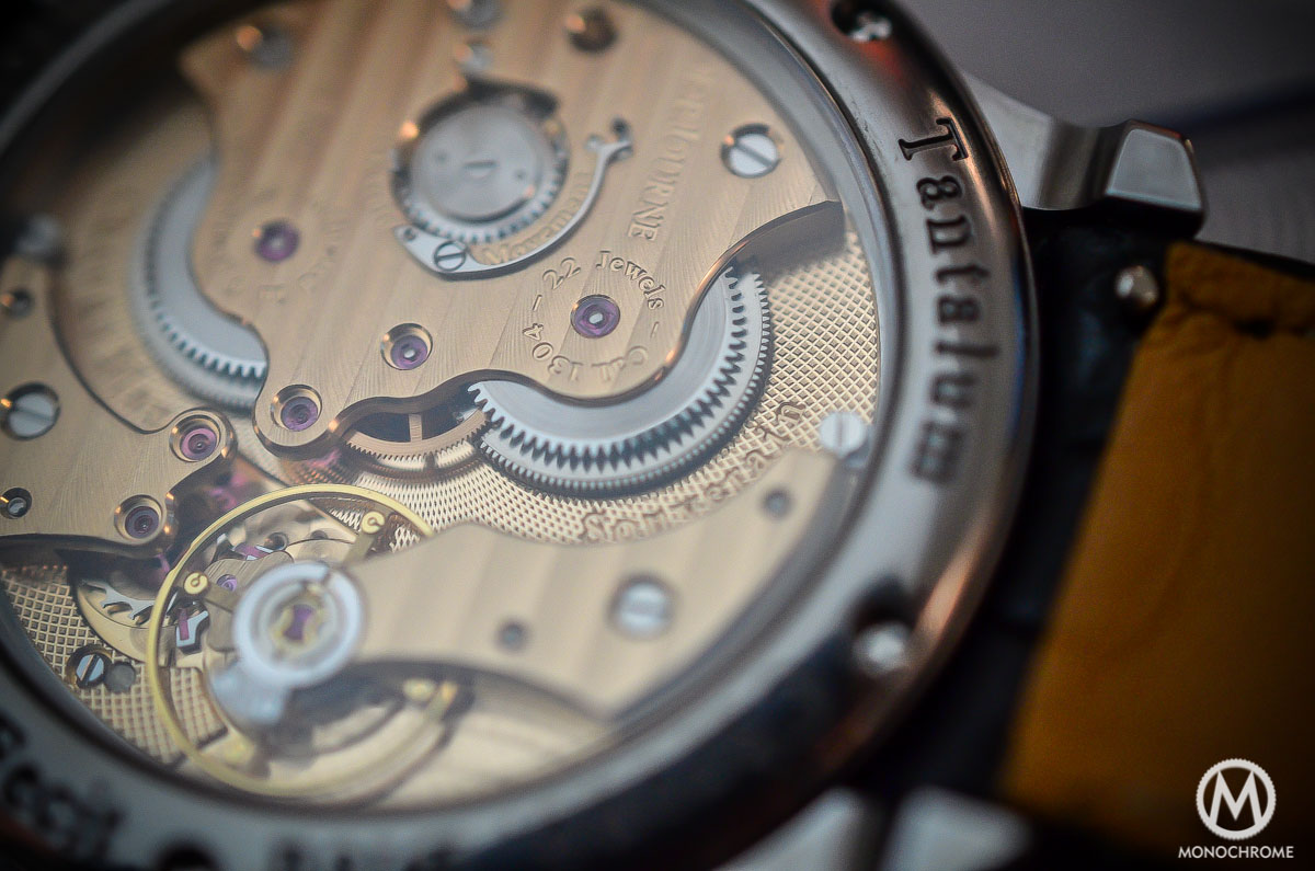 FP Journe Chronometre Bleu - movement close up
