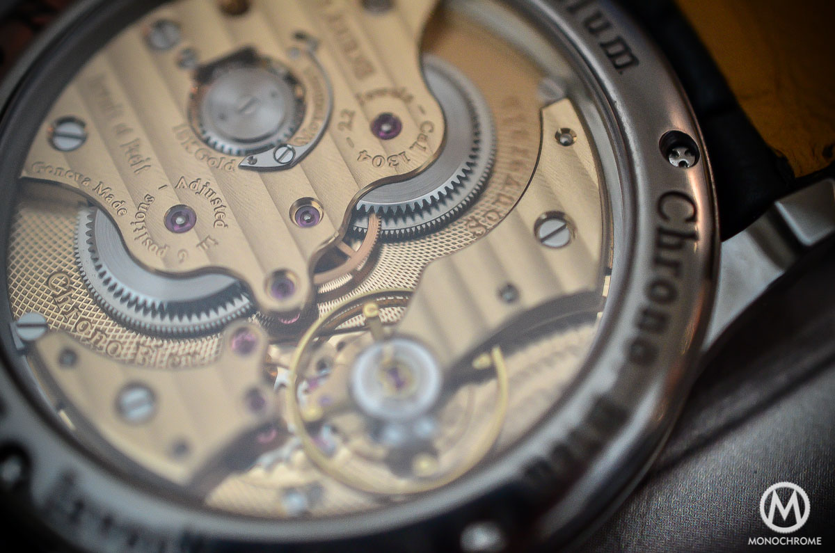 FP Journe Chronometre Bleu - movement detail