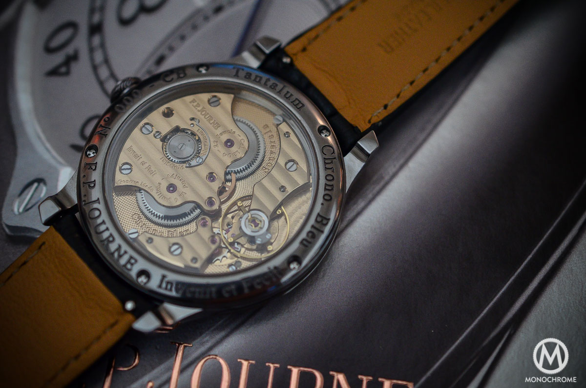 FP Journe Chronometre Bleu - movement