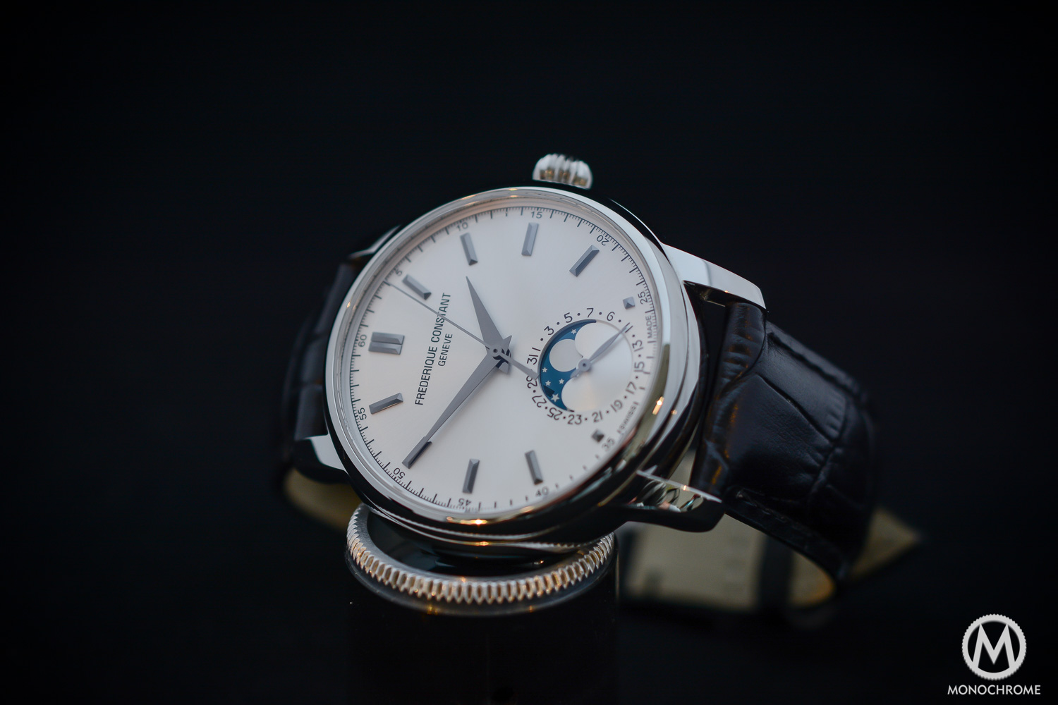 Frederique Constant Manufacture Classics Moonphase stainless steel - 10
