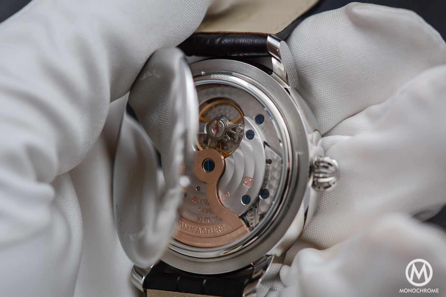 Frederique Constant Manufacture Classics Moonphase stainless steel - 4