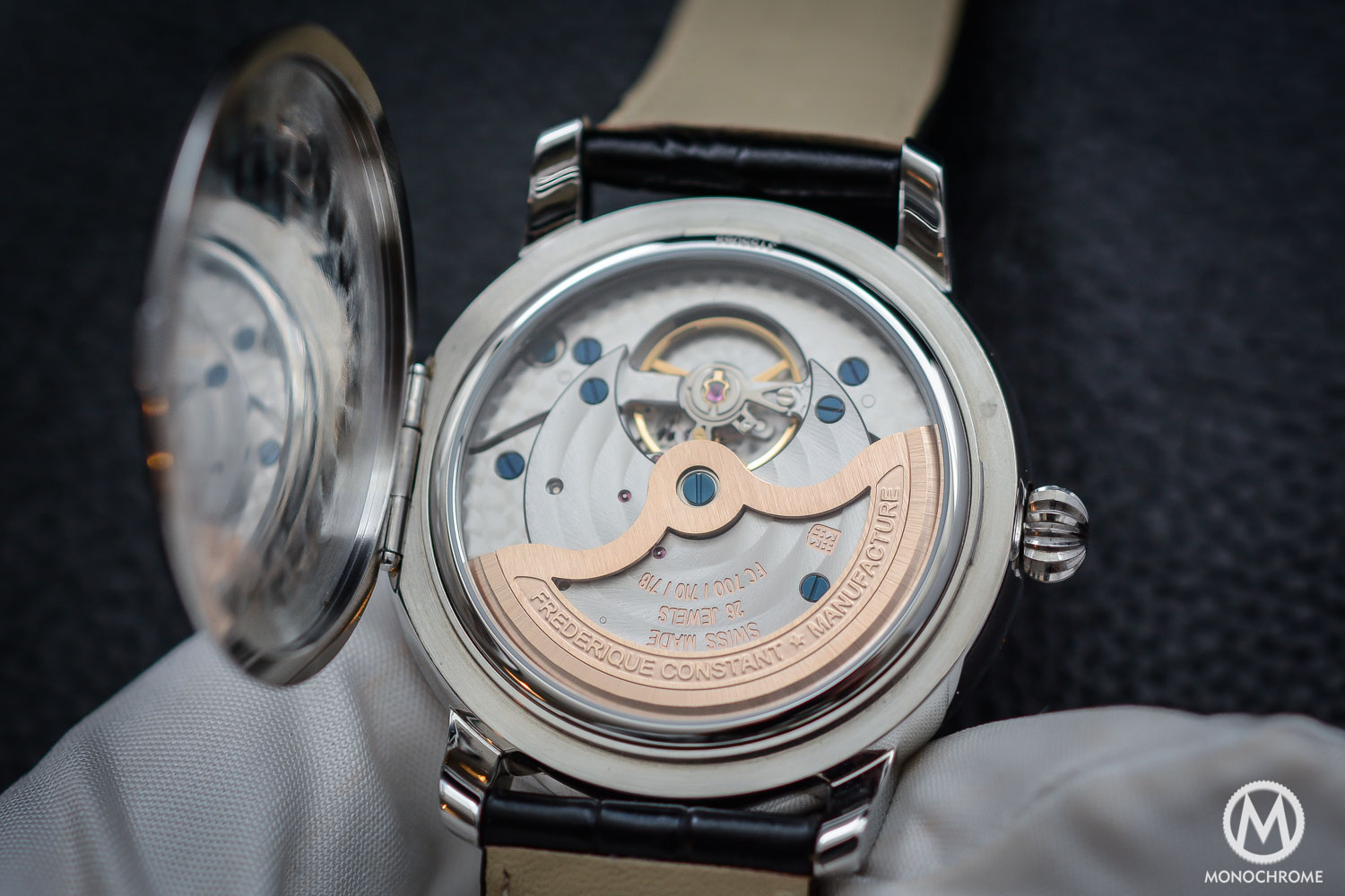Frederique Constant Manufacture Classics Moonphase stainless steel - 6
