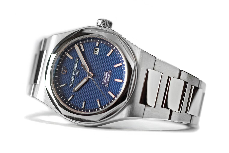 Girard Perregaux Laureato 2016 Autimatic ref. 81000 - blue dial